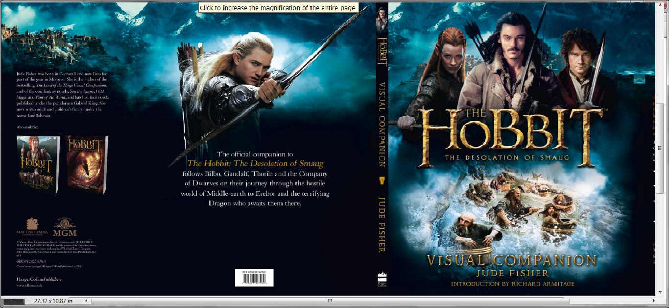 The Hobbit: The Desolation of Smaug Visual Companion – Jane Johnson Necromancer Hobbit Desolation Of Smaug